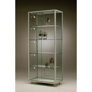 "Freestanding Showcase ""Square"" with LED Shelf Lighting"