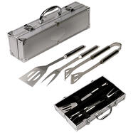 BBQ Utensils in an Aluminium Case