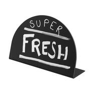 "Table-top Chalkboard ""Semicircle"""