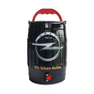 5 Litre Party Barrel with Different Beers, customised print