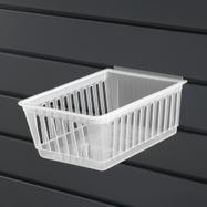 "Cratebox ""Long"" / Product Dispenser / Box for Slatwall System / Plastic Basket"