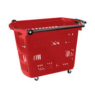 "Roller Basket ""Big"" - Shopping Basket with Wheels"