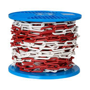 Plastic Chain 6 mm or 8 mm thick, different colours