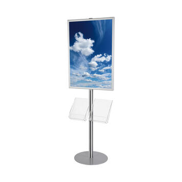 "LED Poster Stand ""Quattro"""