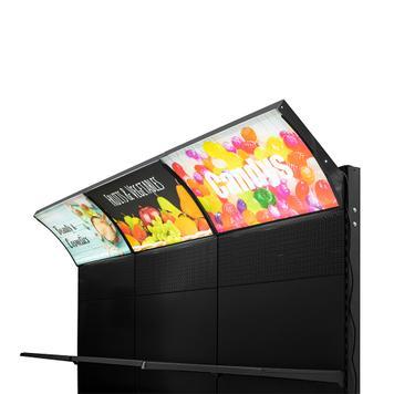 LED Shelf Topper