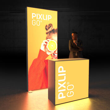 """Pixlip GO  LED Exhibition Stand  """"Stand HL10"""""""