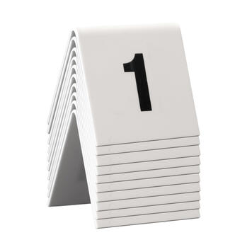 Table Numbers 1-60