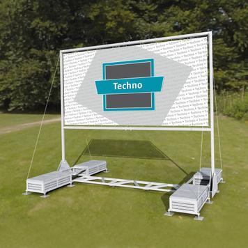"Folding Mobile Promotion System ""Techno I"""