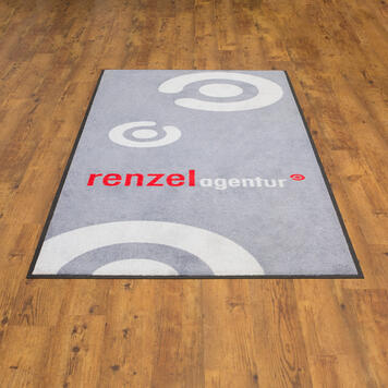 Washable Mat with Logo / Doormat / Customised Imprint