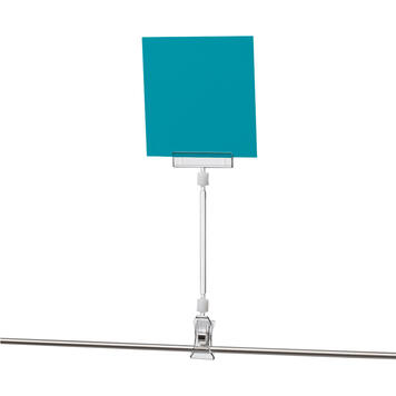 """Price Holder """"Sign Clip"""" for Large Pricing Signs with Extension and Clamp"""