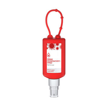 Virucidal Hand Disinfectant with suspension loop, spray attachment