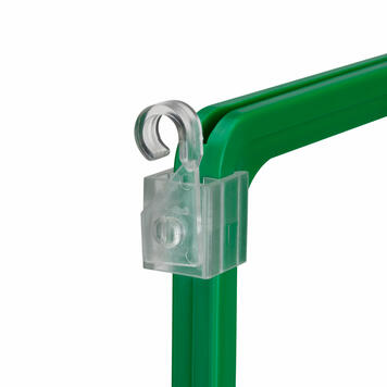 Plastic Hanging Hook for Showcard Frames - pivoting