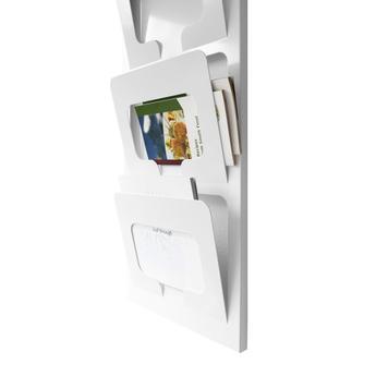 "Wall Mounted Leaflet Holder ""Bright"" A4 Landscape"