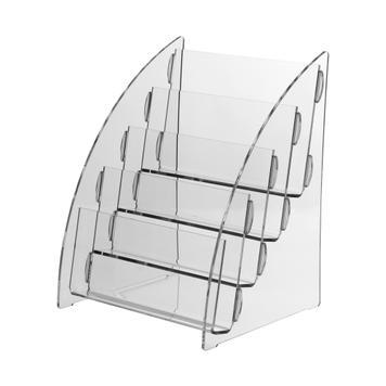 """4-tier Leaflet Dispenser """"Nigella"""" A5 landscape"""