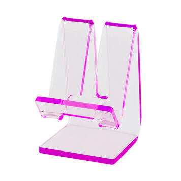 Mobile Phone Stand with Charging Cable Slot