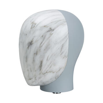 """Front of Head for Mannequin """"Magic"""", marble effect"""