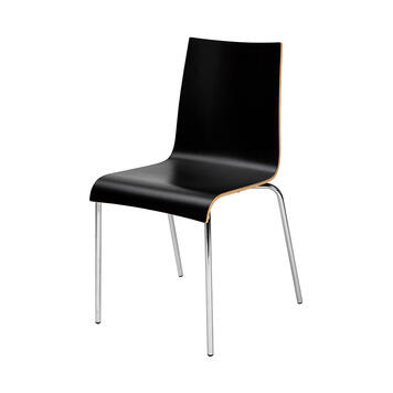 """Chair """"Ramona"""" stackable, white"""