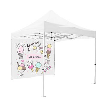 """Side Wall for Promotional Tent """"Zoom"""""""