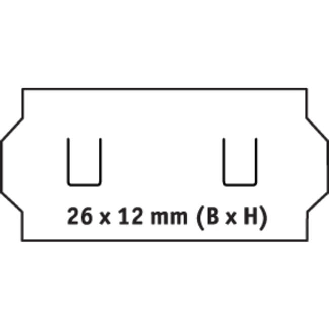 Labels for Pricing Gun, 1 line
