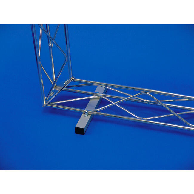 Floor Fixing, square tubing for gantry profile system