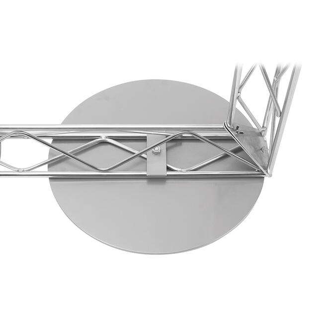 Floor Fixing, round steel plate for gantry profile system