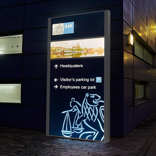 "Outdoor Display ""Madrid LED"""