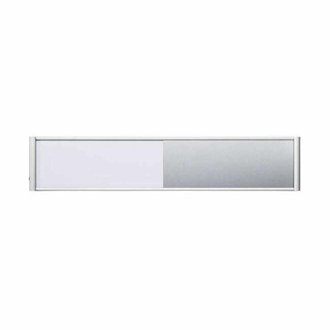 """Vacant / Occupied Indicator for Door Sign """"Silver"""""""