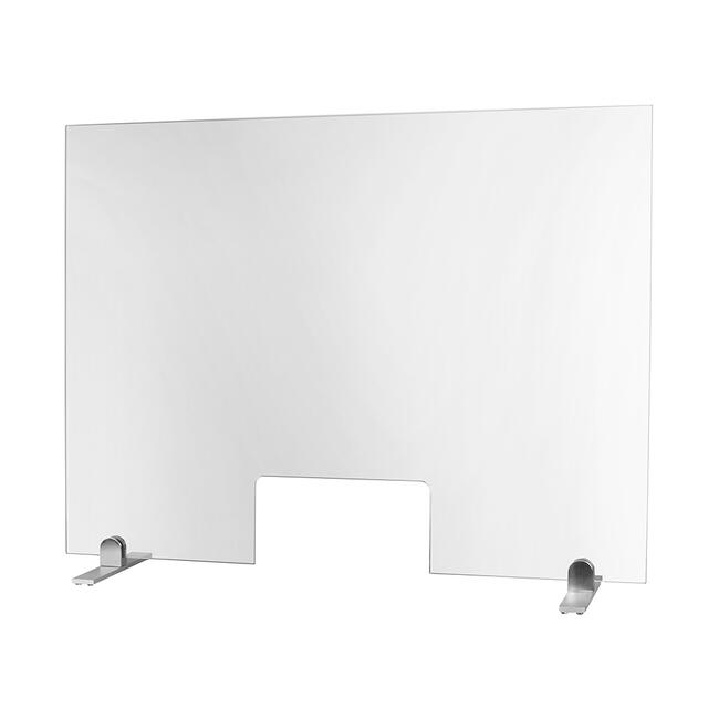 Hygienic Screen made of Glass