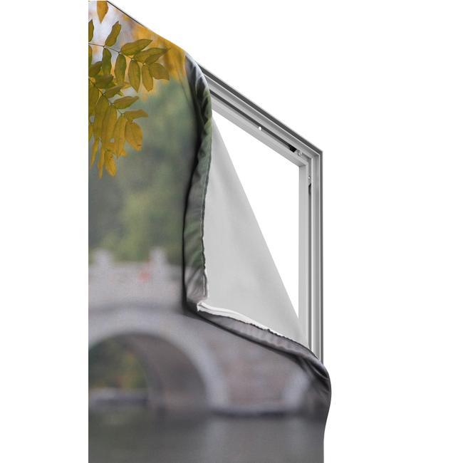 Digitally Printed Banner for Aluminium Stretchframe
