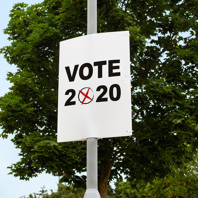Election Poster incl. Print
