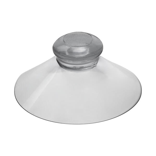 Transparent Suction Cup with Button