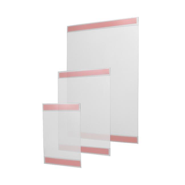 Adhesive Showcard C-Pocket