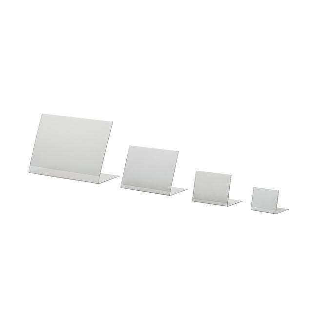 PVC Single Sided Poster Holder, A6 - A8, portrait or landscape