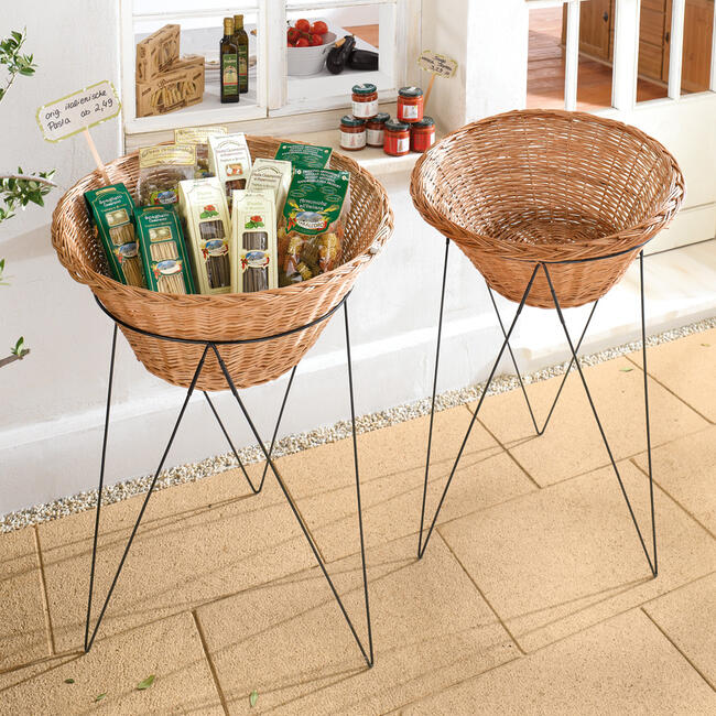 """Sales Stand """"Willow Basket"""""""