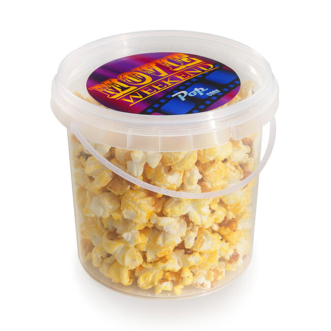 Tub Filled with Sweet Popcorn or Candy Floss