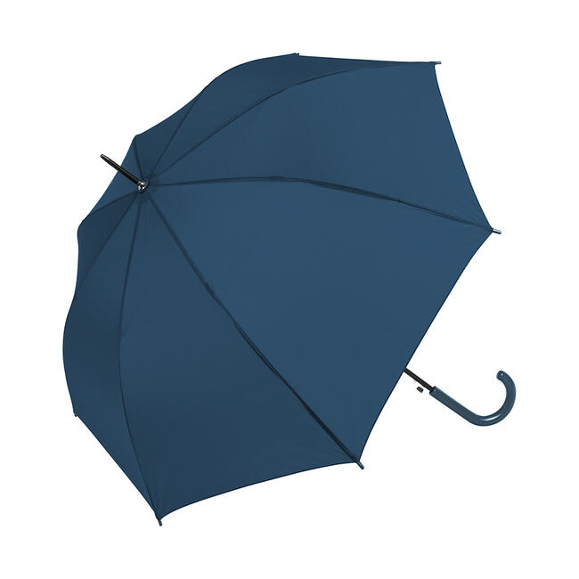 "Umbrella ""Fair"" with coloured round hook handle and metal tip"