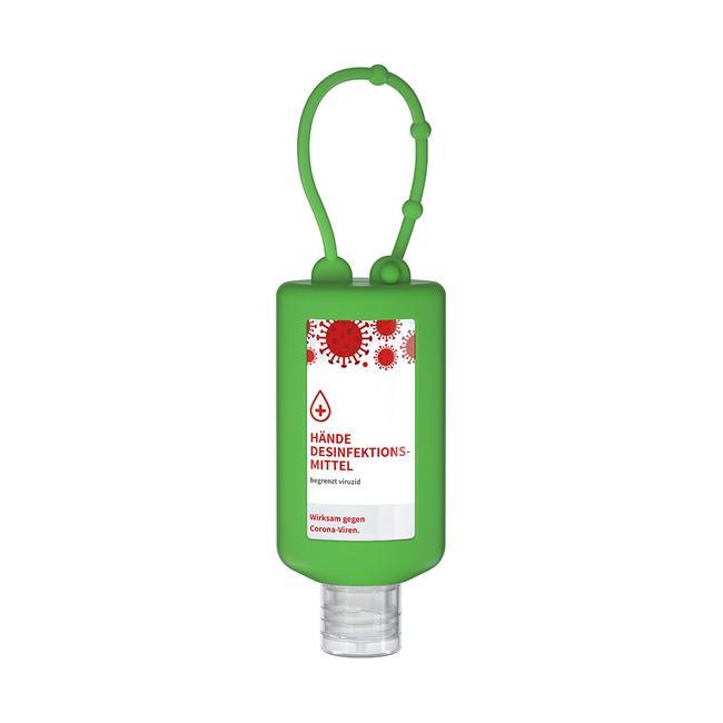 Virucidal Hand Disinfectant with hanging loop, bumper