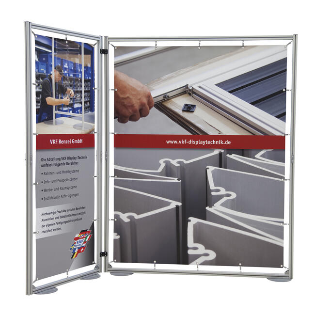 "Folding Banner Wall ""Quattro"""