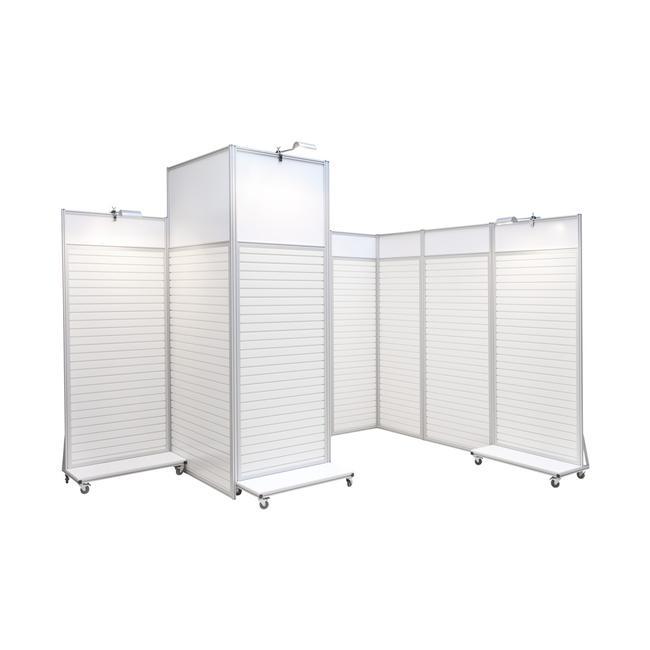 "FlexiSlot® Exhibition System ""Quattro"""