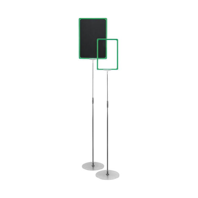 """Freestanding Poster Stand """"VZ"""""""