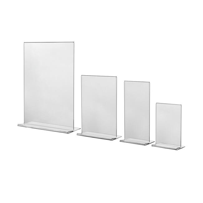 """Menu Card Holder """"Arum"""" in standard paper sizes"""