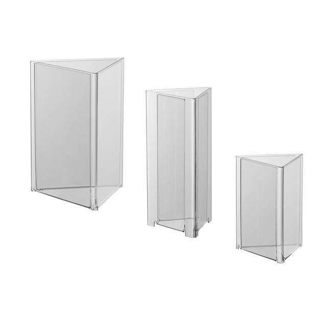 Triangular Acrylic Stands A4 – A6