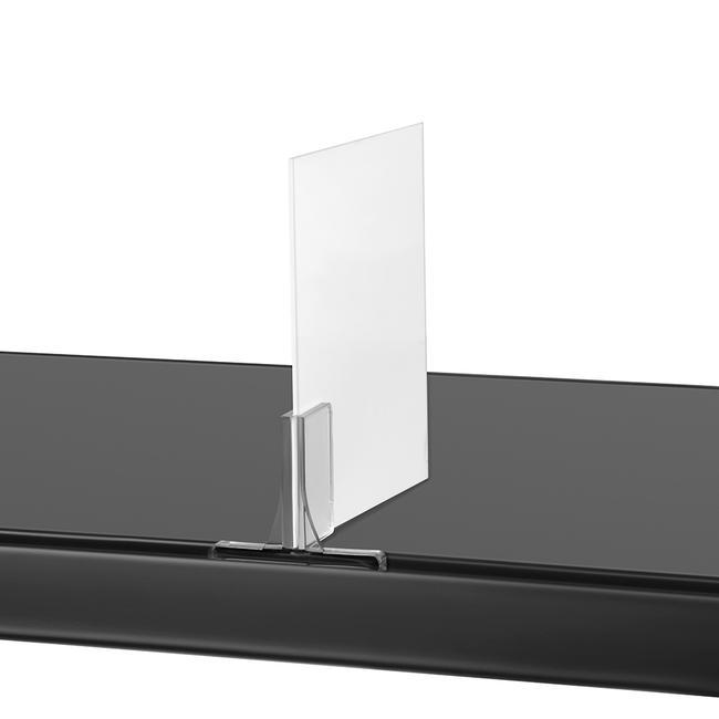 Reinforced Clip for Tegometal Shelves
