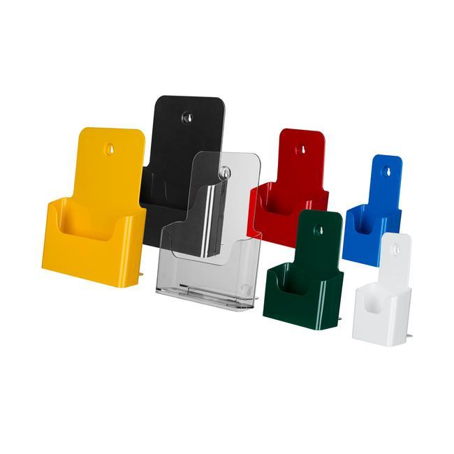 """Single Pocket Leaflet Holder """"Colour"""""""