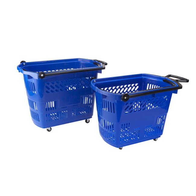 "Roller Basket ""Small"", Shopping Basket 33 litres, to pull"