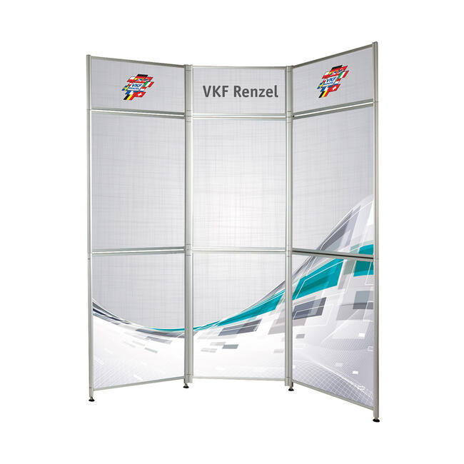 "Folding Wall ""Premiere"" with Aluminium Click Frames"