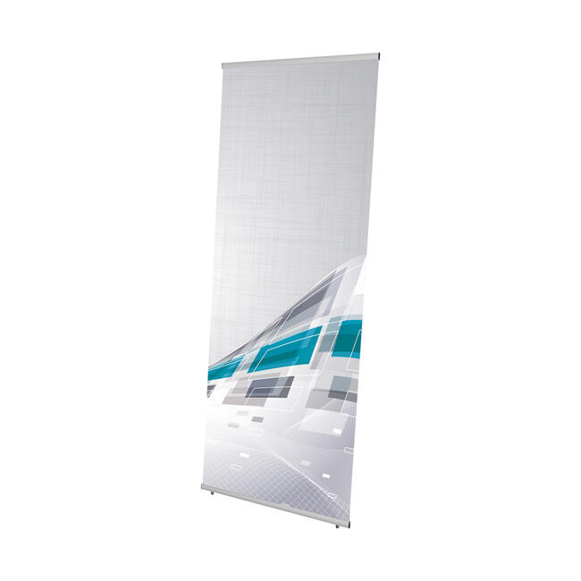 """Banner Display """"Easy"""", one-sided L-display"""