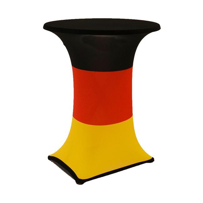 "Bistro Table Cover ""Samba"", motif: Germany, Ø 850 mm"