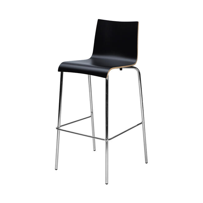 "Bar Stool ""Ramona"", with Back Rest"