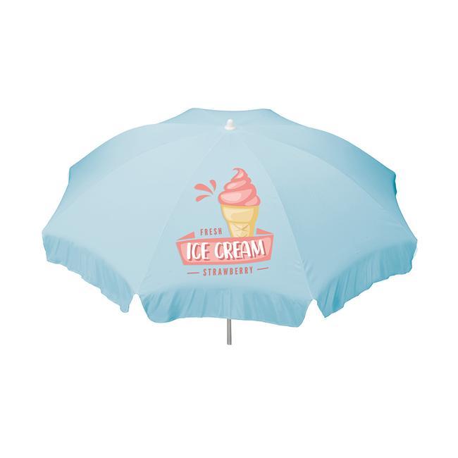 Parasol with custom print